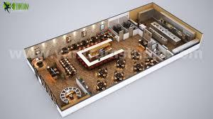 Artstation Fully Modern Bar 3d Floor Plan Design Ideas By