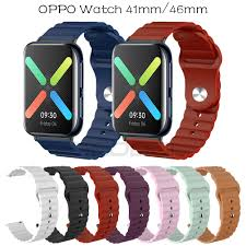 OPPO Dây Đeo Silicon Mềm Cho Đồng Hồ Thông Minh Oppo 41mm 46mm Oppo