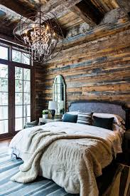rustic elegant bedroom designs. Make A Cabin Bedroom Luxe With Fuzzy Throws And Chandelier For Modern Rustic Vibe Elegant Designs