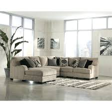ashley furniture microfiber sectional t on all furniture right facing 4 piece sectional in