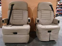used rv motorhome furniture tan fleexsteel captains chairs rv furniture
