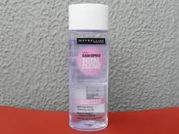 maybelline total clean express eye and lip makeup remover review