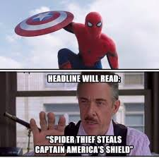 Cthutube The Best Captain America Civil War Spider Man Memes