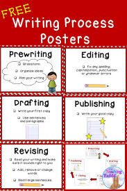 these writing process posters help to guide students through  these writing process posters help to guide students through the steps from prewriting to publishing