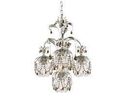 schonbek rondelle four light 18 wide chandelier
