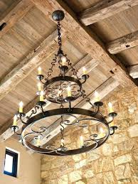 best of round wrought iron chandelier for wrought iron chandeliers rustic large round chandelier 59 wrought beautiful round wrought iron chandelier