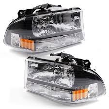 2012 Dodge Durango Fog Light Bulb Replacement Amazon Com Headlamp Replacement Fit For 97 04 Dodge Dakota
