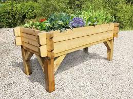 the vegi table raised table shaped vegetable planter