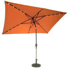table umbrella. tempting rectangular patio umbrellas to complete 10\u0027 x 6 5\u0027 solar powered led lighted table umbrella