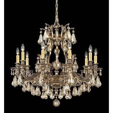 schonbek sophia floine bronze 10 light golden shadow heritage handcut crystal chandelier 31w x