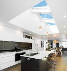 Horizontal Skylights Design For Modern Kitchen (Image 6 of 25)