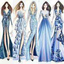 drawings fashion designs ilustration pinteres