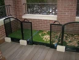 patio dog potty diy home design ideas