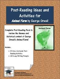 animal farm essay prompts animal farm essay questions animal farm essay