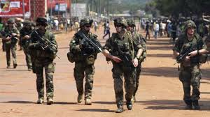 Image result for French Troops  Central Africa