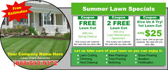 Lawn Care Flyer Template Word Free Flyer Door Hanger Templates Page Lawnsite Perfect Lawn Care
