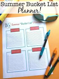 to do lis creating a family summer bucket list free printable momof6