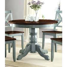inch table amazing round dining with leaf cherry intended for wooden 42 patio top replacement iconic