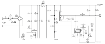 buck boost transformer circuit diagram images 20 w pfc high efficiency buck boost triac dimmable led driver eeweb