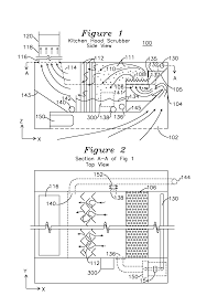 patent us kitchen hood vent and scrubber patents patent drawing