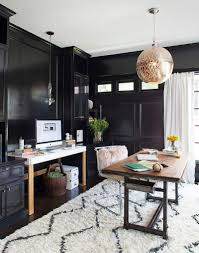 home office designers contemporary home offices. Pendant And Rug Bring Moroccan Flavor To The Modern Home Office [Design: Terracotta Design Designers Contemporary Offices