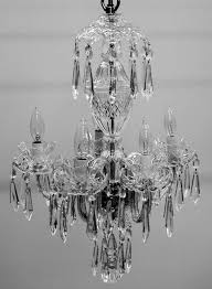 5 arm chandelier avoca cut by waterford