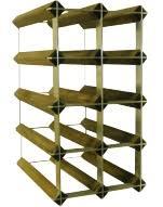 wood metal wine rack. Modren Rack Wood And Metal Wine Rack Throughout N