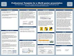 Create A Poster In Powerpoint Sample Poster Presentation Templates Magdalene Project Org