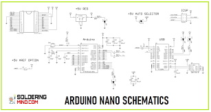 There are totally 14 digital pins and 8 analog pins on your nano board. Arduino Nano Pinout And Complete Tutorial With Schematics Solderingmind