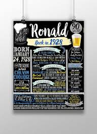 90th birthday gift for him 90th birthday party ideas 90th