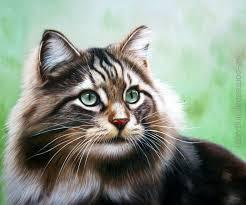 leadart portrait painting cat portrait painting cat portrait painting