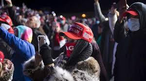 Trump supporters stranded in freezing ...