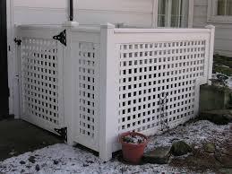 vinyl lattice fence panels. Image Of: White Vinyl Lattice Panels Fence