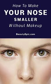 how to make your nose smaller without makeup flawless small nose nose makeup nose reshaping