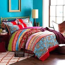 bohemian bedding twin beds bedside table bohemian comforter twin xl