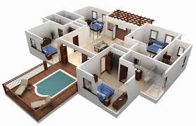 virtual house plans. floor plans software inspirational best free plan with beautiful outdoor pool design virtual house