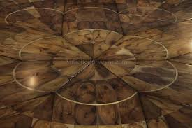 Large Round To Round Dining Jupe Table Walnut Table With Hidden - Walnut dining room furniture