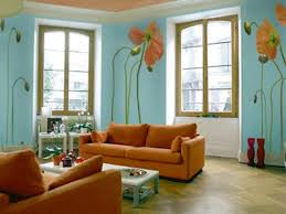 Orange Color Combinations For Living Room Drawing Room Wall Orange Colours Combinations Living Room Color