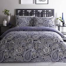 33 crafty paisley duvet cover topaz navy quilt covers sets king uk queen set ikea nz