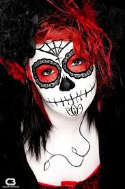 maxican day of the dead makeup 3