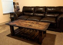 Pallet Wood Coffee Table Details: