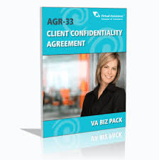 33-Agr Client Confidentiality Agreement