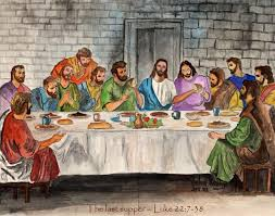 Judas: ok, it's getting late ... last supper everyone .... oops, I meant  last call ... last call ...: funny