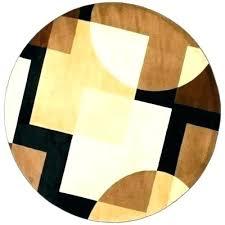 6 foot bathroom rug 9 round area rugs amazing fantastic ft elegant black brown rectangle and