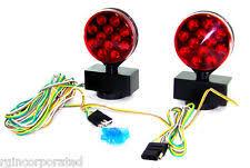 led magnetic tow lights 12v emergency 3 in 1 24 led magnetic tow truck lights kit 12 volt trailer