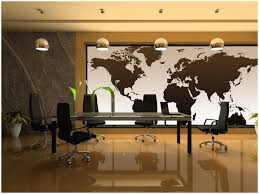 national geographic executive world map wall mural for world map for office wall