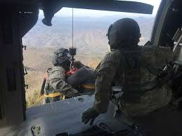 National Guard rescue at Mount Cammerer Tower in Great Smoky ...