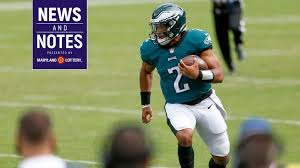 Jalen hurts impressing in philadelphia eagles 2020 nfl training camp! News Notes Eagles Have Unique Tool In Lamar Jackson Prep With Jalen Hurts