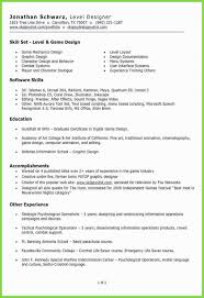 Traditional Resume Format Best Resume Template For 3d Artist Awesome