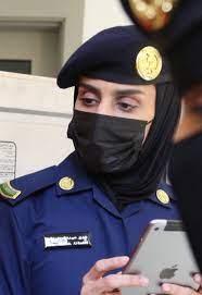 لأول مرة.. عبير الراشد جندية سعودية تخطف الأنظار في مؤتمر الحج